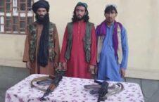 قوماندان طالبان تخار 1 226x145 - تصاویر/ تسلیم شدن قوماندان طالبان همراه محافظان اش در تخار