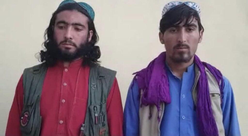 قوماندان طالبان تخار 3 1024x562 - تصاویر/ تسلیم شدن قوماندان طالبان همراه محافظان اش در تخار