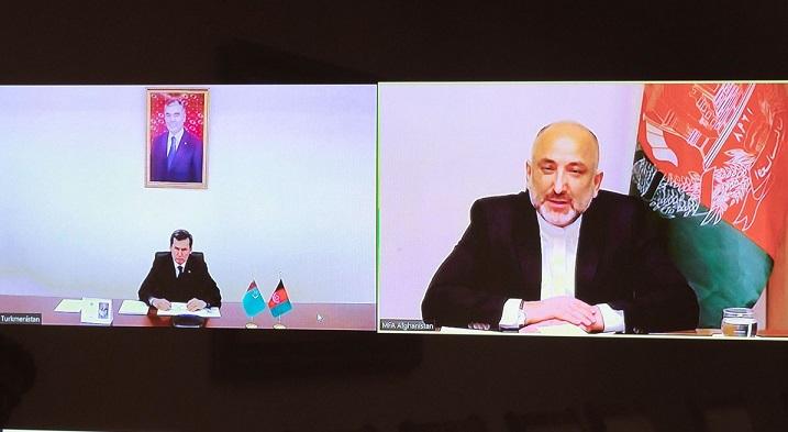 محمد حنیف اتمر رشید مرادوف2 - اعلام آماده گی ترکمنستان برای میزبانی و حمایت از مذاکرات صلح افغانستان