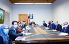 محمد حنیف اتمر نشست سهجانبه 1 226x145 - جزییات برگزاری نخستین نشست سهجانبه افغانستان-امریکا-ترکمنستان