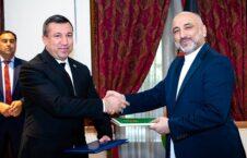 محمد حنیف اتمر هوجه ایویزوف 226x145 - دیدار سرپرست وزارت امور خارجه با سفیر ترکمنستان مقیم کابل