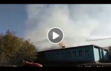ویدیو آتش مکتب ناحیه هفتم کابل 226x145 - ویدیو/ آتش گرفتن یک مکتب در ناحیه هفتم کابل
