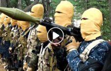 ویدیو تسلیم طالبان داعش ننگرهار 226x145 - ویدیو/ تسلیم شدن اعضای طالبان و داعش به نیروهای دولتی در ننگرهار