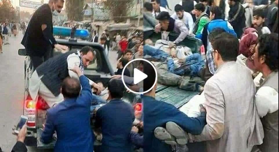 ویدیو/ جنایت وحشیانه داعش بالای متعلمین بی گناه در کابل
