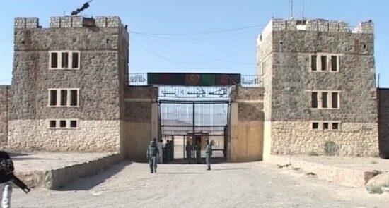پلچرخی 550x295 - درگیری خونین در بزرگترین زندان افغانستان