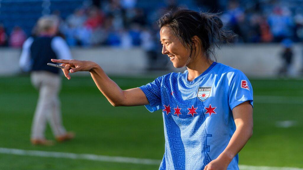 یوکی ناگاساتو2 1024x576 - حضور یک فوتبالیست زن در تیم فوتبال مردان خبر ساز شد