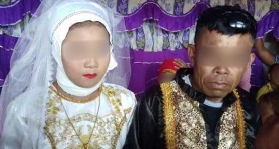 آمپاتوئان 5 550x295 - ازدواج یک دختر ۱۳ ساله با مرد ۴۸ ساله در فیلیپین + تصاویر