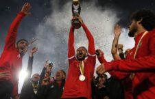 الاهلی مصر 226x145 - تیم فوتبال الاهلی مصر برای نهمین بار قهرمان قاره افریقا شد