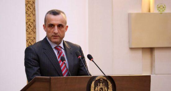 امرالله صالح. 550x295 - پیام معاون نخست ریاست جمهوری برای رهبر حزب اسلامی