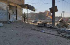 انفجار هرات 3 226x145 - تصاویر/ انفجار در مربوطات حوزۀ دهم شهر هرات