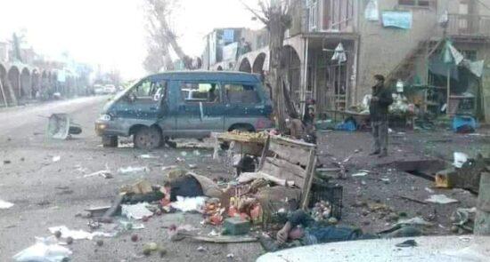 بامیان انفجار 550x295 - بامیان؛ در مسیر پروژه بحران سازی