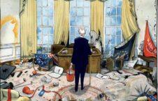 بایدن و ارگ سفید  226x145 - کاریکاتور/ بایدن و ارگ سفید پس از ترمپ!