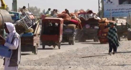 بیجا شده هلمند  550x295 - ابراز نگرانی رییس شورای مهاجرین ناروی از افت اقتصادی در افغانستان
