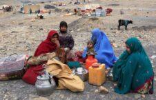 بیجا شده 226x145 - اقدام ضد بشری طالبان علیه باشنده گان بیجا شده در ولایت ارزگان