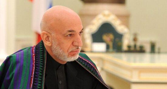 حامد کرزی 550x295 - پیشنهاد رییس جمهور پیشین برای طالبان؛ کرزی: قدرت را تقسیم کنید
