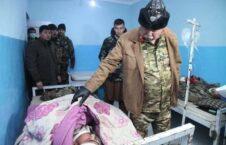 دوستم شفاخانه اندخوی 2 226x145 - تصاویر/ حضور مارشال عبدالرشید دوستم در شفاخانه ولسوالی اندخوی