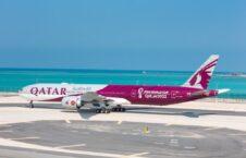 طیاره جام جهانی 2022 226x145 - رونمایی رسمی قطر اولین طیاره مخصوص جام جهانی 2022