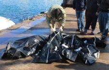 غرق 226x145 - ادامه مرگ دلخراش مهاجرین در سواحل لیبیا