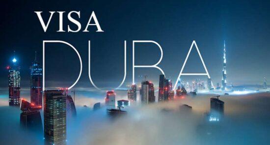 ویزه امارات 550x295 - وضع محدودیت های تازه برای سفر باشنده گان افغانستان به امارات متحدۀ عربی