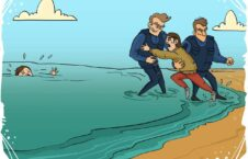 پناهنده کشی 226x145 - کاریکاتور/ یونان تراژدی پناهنده کشی