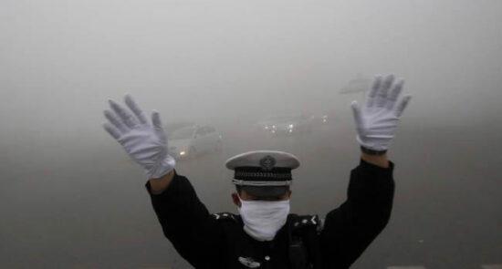 آلوده گی هوا 550x295 - نگرانیها از افزایش آلوده گی هوا در کابل