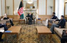 اشرف غنی دیبورا لاینس 226x145 - تاکید نماینده خاص ملل متحد بر توقف خشونت و جنگ در افغانستان