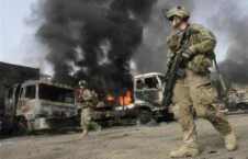 جنگ افغانستان 226x145 - گسترش تروریزم و جنگ حاصل دمکراسی خارجی ها