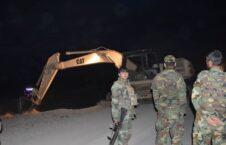سرک میوند 1 226x145 - تصاویر/ بازسازی سرک تخریب شده توسط نیروهای امنیتی