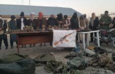 سلاح و مهمات پروان 4 226x145 - تصاویر/ کشف و ضبط مقدار زیادی سلاح و مهمات در ولایت پروان