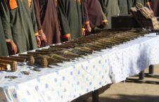 طالبان سلاح پکتیا 1 226x145 - تصویر/ دستگیر شدن هفت طالب مسلح در ولایت پکتیا