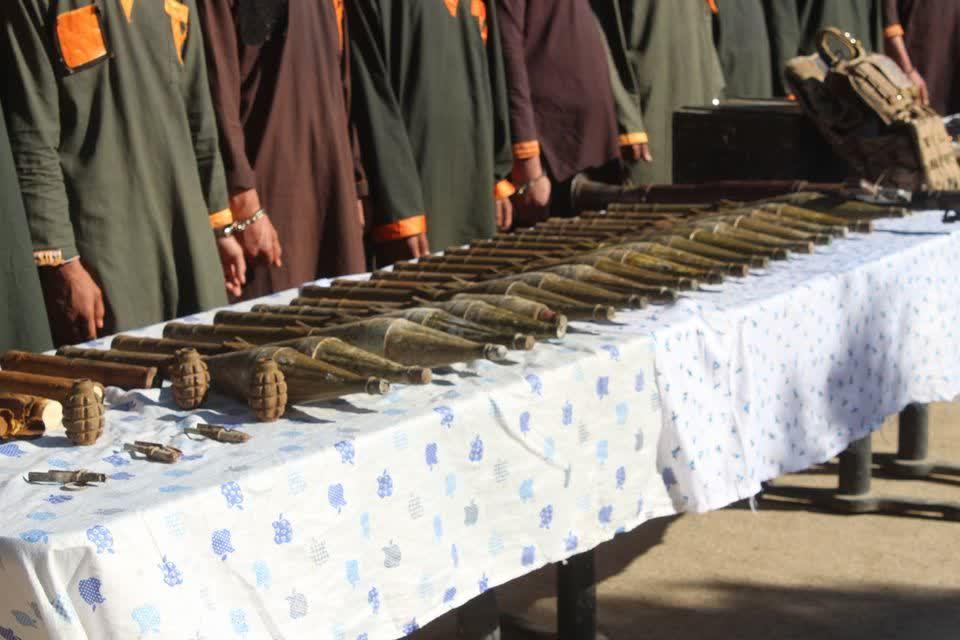 طالبان سلاح پکتیا 1 - تصویر/ دستگیر شدن هفت طالب مسلح در ولایت پکتیا