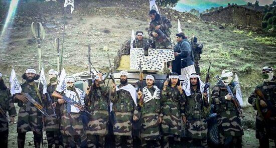 طالبان1 550x295 - گزارش یک منبع خارجی درباره توافق سری طالبان با نیروهای خارجی