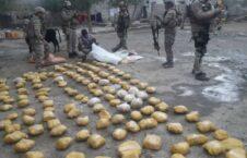 مواد مخدر 2 226x145 - تصاویر/ کشف و ضبط صدها کیلو گرام مواد مخدر در ولایت ننگرهار