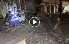 ویدیو خسارات موتر بم مرکز پکتیا 226x145 - ویدیو/ خسارات برجای مانده از موتر بمگذاری شده در مرکز ولایت پکتیا