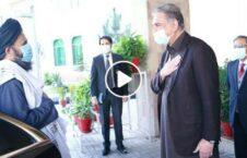 ویدیو وزیر خارجه پاکستان هیئت طالبان 226x145 - ویدیو/ استقبال وزیر امور خارجه پاکستان از هیئت طالبان