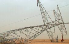پایه برق 226x145 - پلان داعش برای تخریب پایه های برق در ولایت الانبار عراق