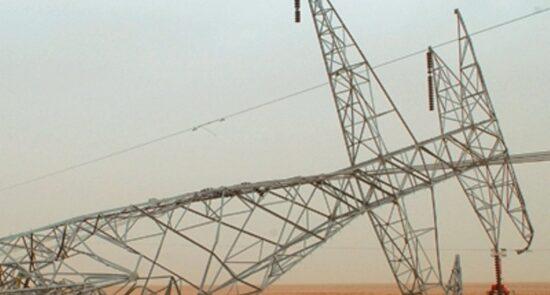 پایه برق 550x295 - پلان داعش برای تخریب پایه های برق در ولایت الانبار عراق