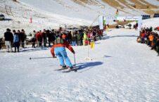 اسکی بامیان 226x145 - اشتراک بیش از ۶۰ ورزشکار در رقابتهای اسکی بامیان