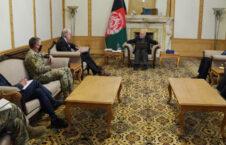 اشرف غنی راس ویلسن سکات میلر 226x145 - دیدار رییس جمهور غنی با شارژدافیر سفارت امریکا در کابل و قوماندان عمومی ماموریت حمایت قاطع