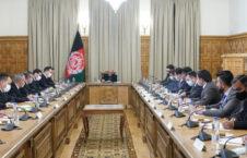 اشرف غنی رشید مرادوف 226x145 - تاکید رییس جمهور غنی بر گسترش مناسبات سیاسی، اقتصادی و امنیتی میان افغانستان و ترکمنستان