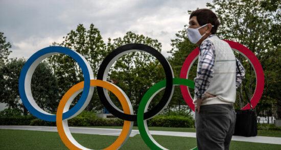 المپیک جاپان 550x295 - محرومیت ورزشکاران المپیکی در صورت مثبت بودن تست کرونا