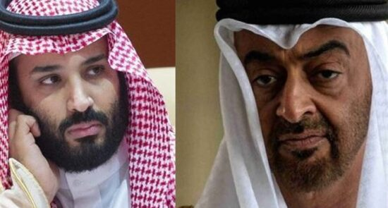 امارات عربستان 550x295 - هدف قرار گرفتن منافع عربستان و امارات در كراچی بخاطر عادیسازی روابط آنها با اسراییل