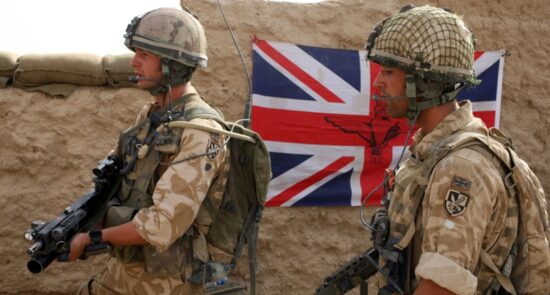 بریتانیا 550x295 - آیا از آموزش نظامی بریتانیا برای نقض حقوق بشر در سایر کشورها استفاده شده است؟