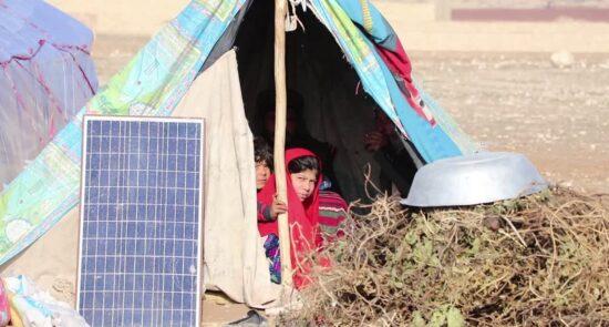 بیجا شده مزار شریف 1 550x295 - مساعدت مالی ایالات متحده با بیجاشده گان داخلی در افغانستان