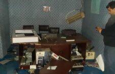 حمله رادیوی محلی کندز 3 226x145 - تصاویر/ حمله نمازگزاران خشمگین بالای سه رادیوی محلی در کندز