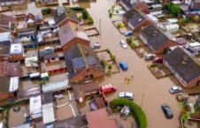 طوفان بریتانیا 7 226x145 - تصاویر/ طوفان شدید در شمال بریتانیا