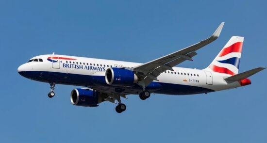 طیاره بریتانیا 550x295 - برقراری مجدد پروازهای بریتانیا به عربستان سعودی