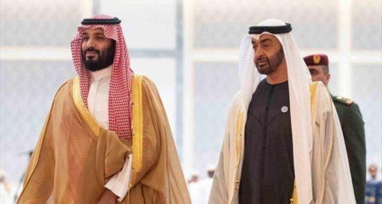عربستان امارات 550x295 - بالا گرفتن تنش ها میان عربستان و امارات؛ بن سلمان از اهانتهای بن زاید خشمگین است