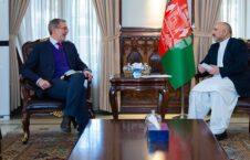 محمد حنیف اتمر اندریس وان برنت 226x145 - قدردانی وزیر امور خارجه از کمک ۳۵۷ ملیون دالری اتحادیهٔ اروپا با افغانستان