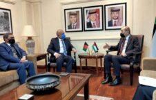 محمد حنیف اتمر ایمن الصفدی 226x145 - دیدار حنیف اتمر با وزیر امور خارجه اردن